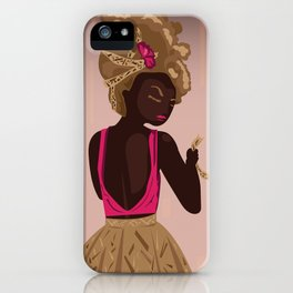 Middle Caicos iPhone Case