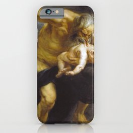 Peter Paul Rubens - Saturn Or Saturn Devouring His Son iPhone Case