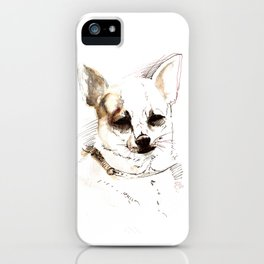 Chihuahua Watercolor iPhone Case