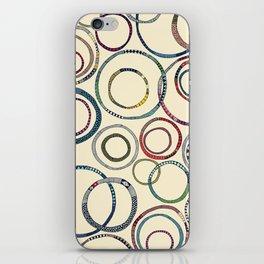 hula hoops iPhone Skin