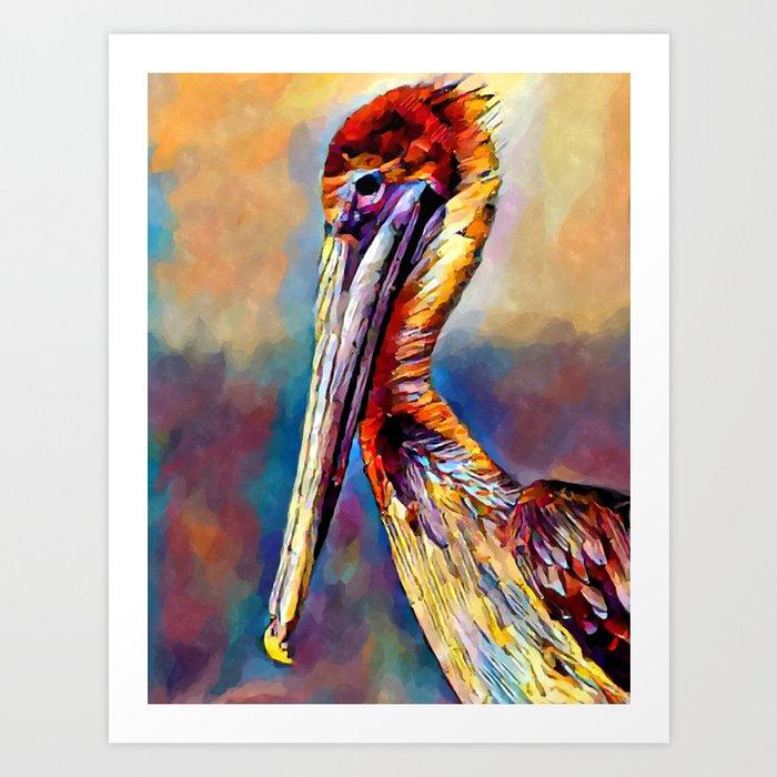 Pelican 3 Kunstdrucke