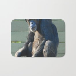 Sitting Alone Bath Mat
