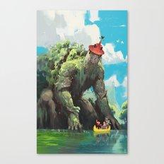 La Tour de Tarascon Canvas Print