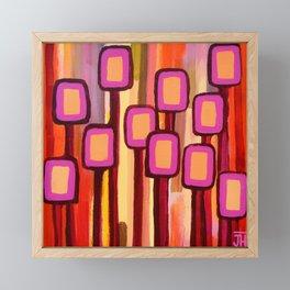 Fuchsia Grove Framed Mini Art Print