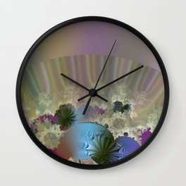 Under the calm surface Wall Clock