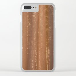 morning forest Clear iPhone Case