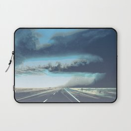 Summer Squall on the Highway, Central New Mexico, 2013 Laptop Sleeve