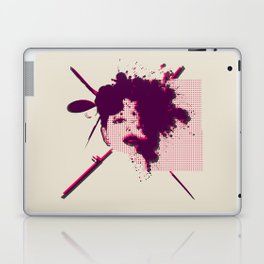 Fizzing Forth Pink Gin Laptop & iPad Skin