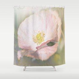 Light pink Flower Shower Curtain
