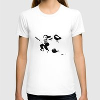 witchcraft T-shirts featuring Art is witchcraft by Koni