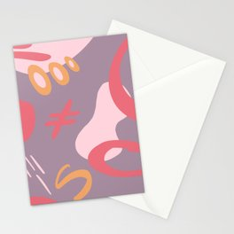 Lexi Abstract Stationery Cards