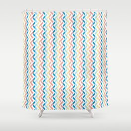 Ordered Peaches by the Sea Shower Curtain