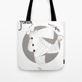 Joker / Pierrot Tote Bag