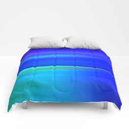 Night light abstract Comforters