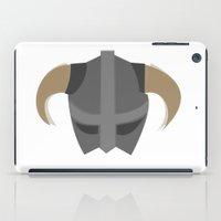 skyrim iPad Cases featuring The Saviour of Skyrim by E_Nicholson