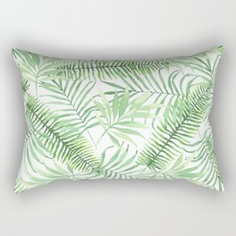 Tropical Branches Pattern 04 Rectangular Pillow