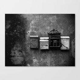 Posta. Canvas Print