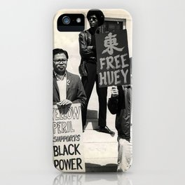 Free Huey - Inter-sectional Protest, 1960s iPhone Case
