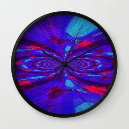Lightened Butterfly Wall Clock