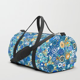 Lost Marbles - Blue Duffle Bag