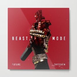 Beast Mode is the fourteenth mixtape by American rapper Future Metal Print