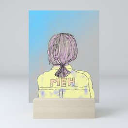 Meh Mini Art Print