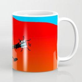 Axe-Man by Jon Warren Coffee Mug