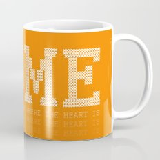 HOME is where the heart is Mug