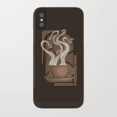 Coffee Nouveau iPhone X Slim Case