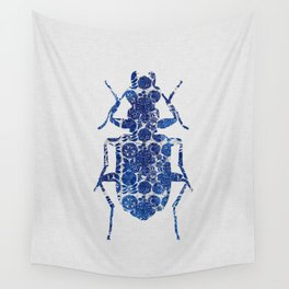 Blue Beetle II Wall Tapestry