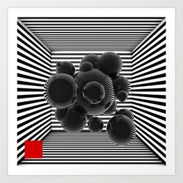 bsp - Box - V1. Art Print