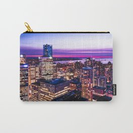 1688 Voyeuristic Vancouver Cityscape - English Bay Pacific Rim View British Columbia Canada Travel Carry-All Pouch