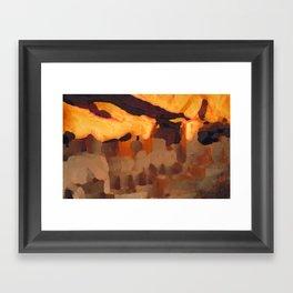 Mesa Verde National Park Colorado Framed Art Print