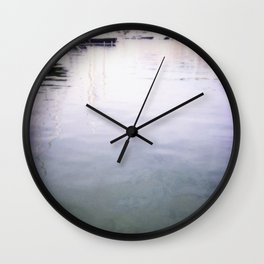 Palma Harbour Wall Clock