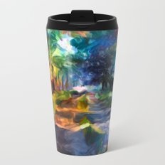 Route coloré Metal Travel Mug