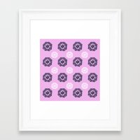 introvert Framed Art Prints featuring Introvert by Escarnath