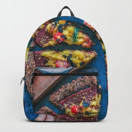 Cauliflower Vegan Pizza Backpack