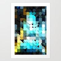 IceBlu Art Print
