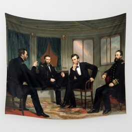 The Peacemakers -- Civil War Union Leaders Wall Tapestry