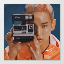 Kibum Camera Canvas Print