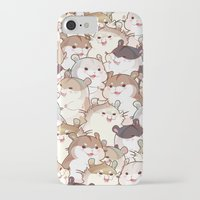 hamster iPhone & iPod Cases featuring Hamster Paradise by AquaZircon (LumiiLoup)