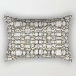 Sculpted Pattern Frieze Rectangular Pillow