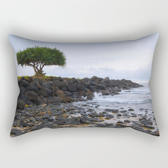 It's lonely at the top Rectangular Pillow