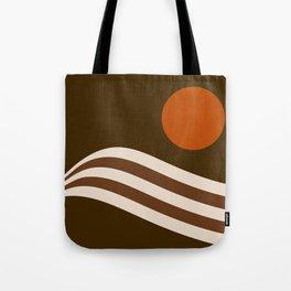 Swell - Cocoa Stripes Tote Bag