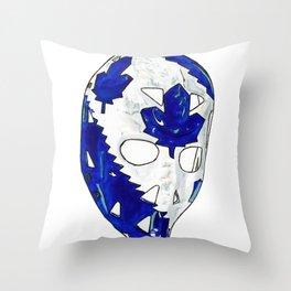Palmateer - Mask 2 Throw Pillow