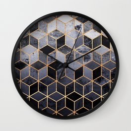 Daydream Cubes Wall Clock