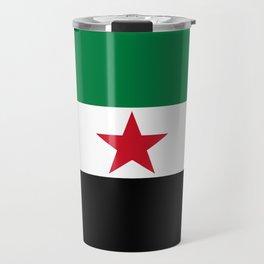 Independence flag of Syria Travel Mug