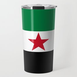 Independence flag of Syria Travel Mug