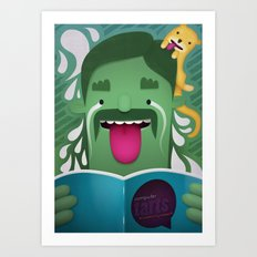 Money Shot Art Print