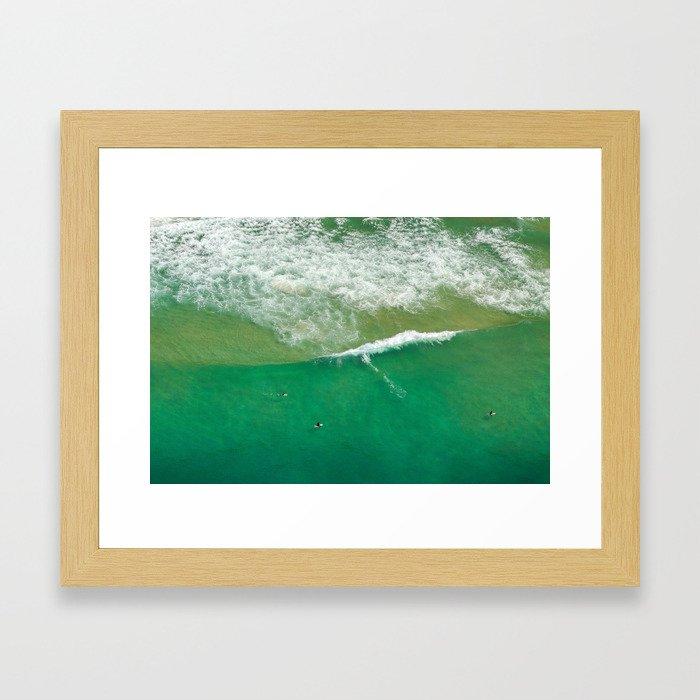 Surfing Day V Framed Art Print